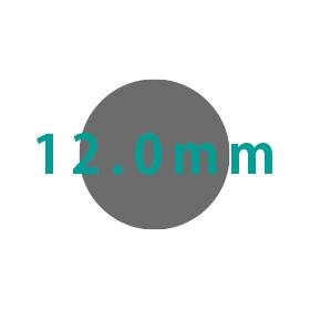 12.0mm