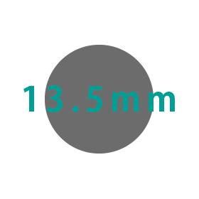 13.5mm