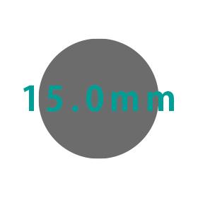 15.0mm