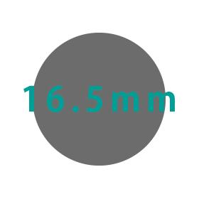 16.5mm