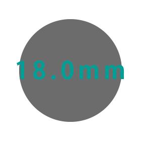 18.0mm