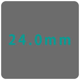 24.0mm