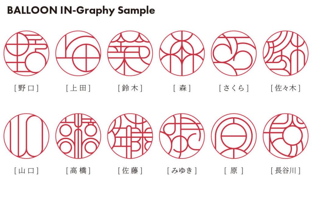 バルーン印グラフィー